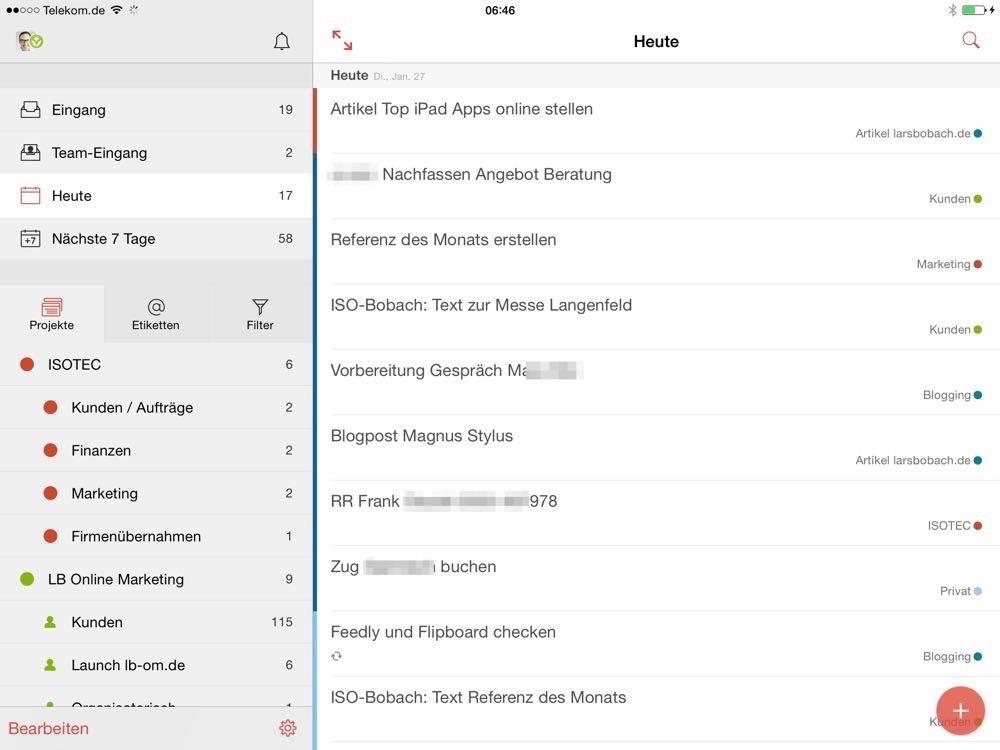 Die besten Apps für Produktivität auf dem iPad
