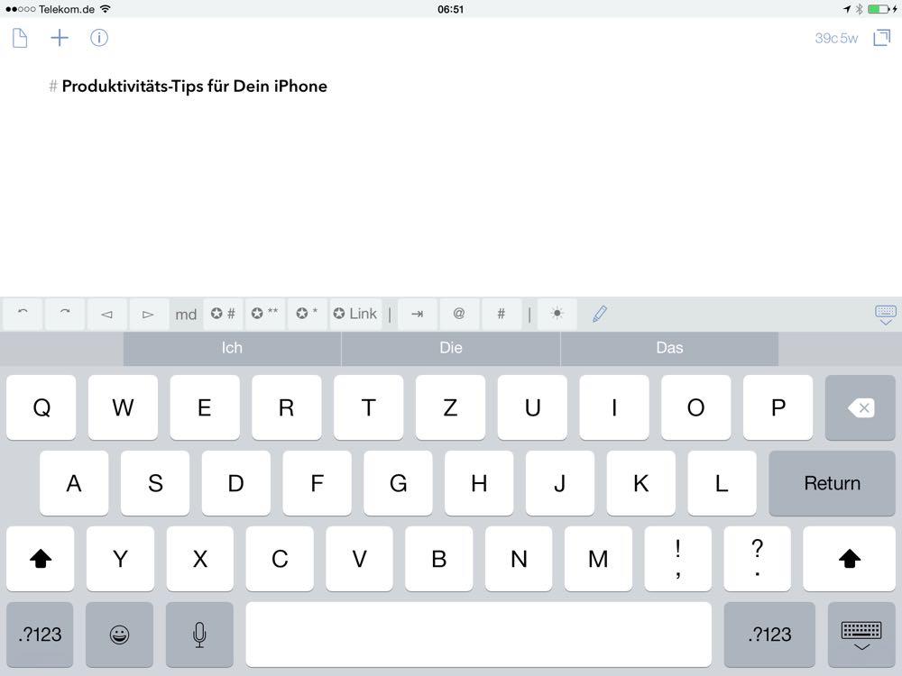 Die Top iPad Apps