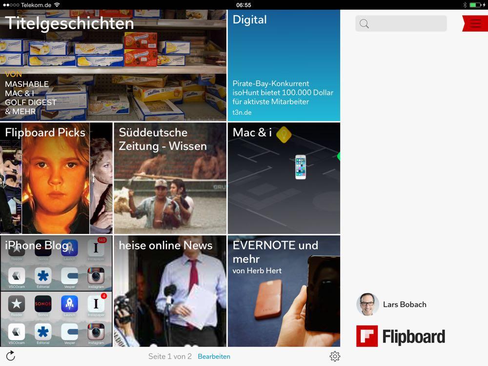 Meine lieblings-Apps fürs iPad