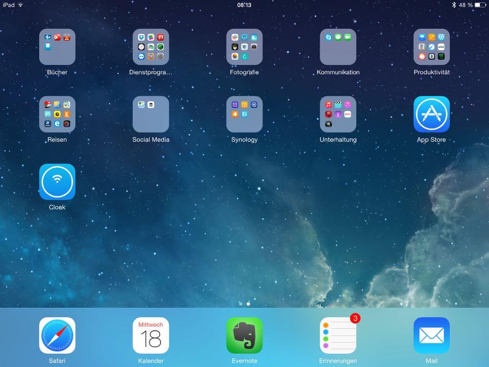 iPad 2 screen ivan blatter auf larsbobach.de