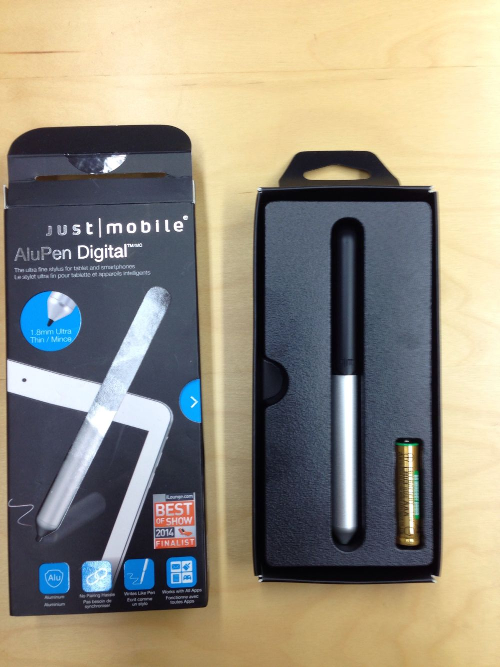 Just mobile Alu Pen 2