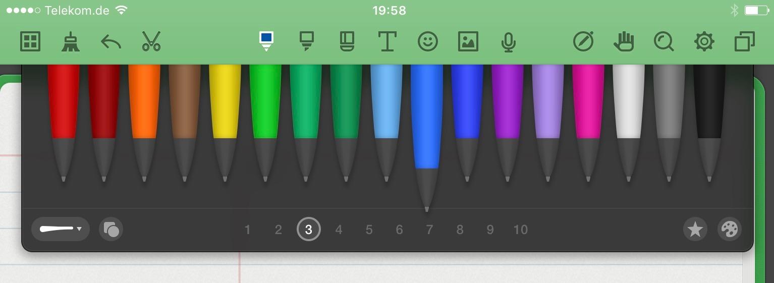 Schreiben auf dem iPad: die beste App für Notizen