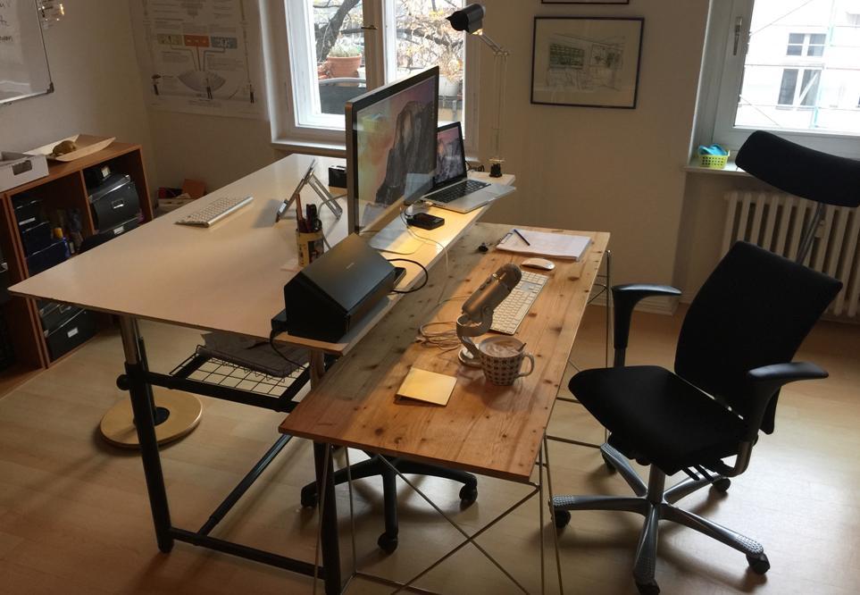 Schreibtisch Nicolai Wirth
