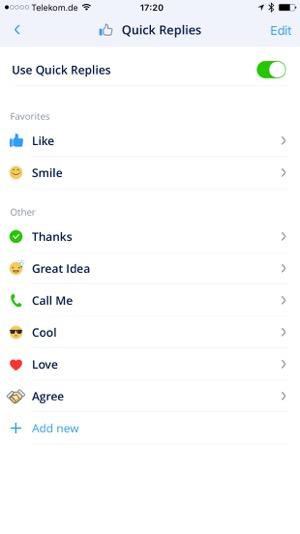 email app mit einfachen antworten