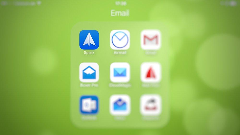 test von email apps für das iphone