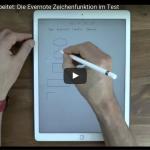 Komplett überarbeitet: Die neue Evernote Zeichenfunktion im Test