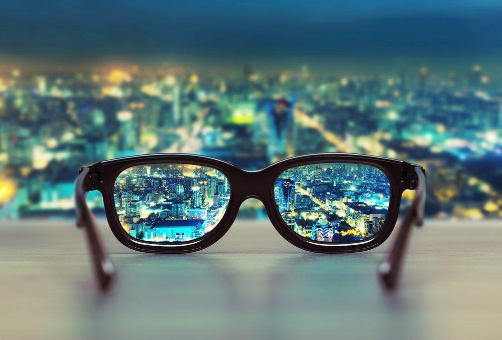 Einfache Business-Vision