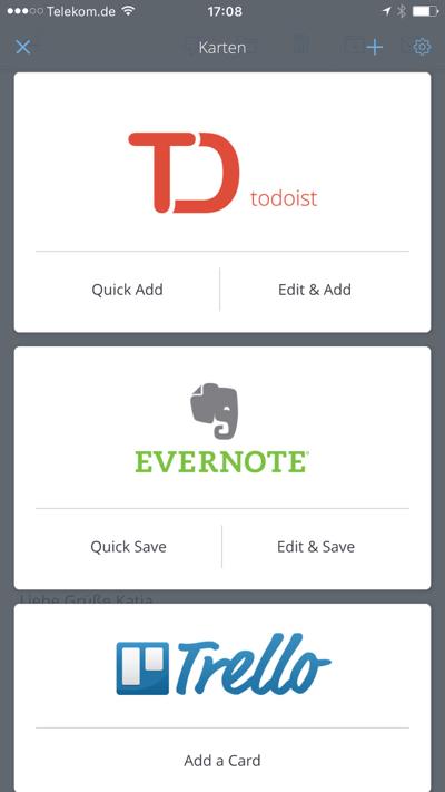 Test der Email Apps für das iPhone CloudMagic
