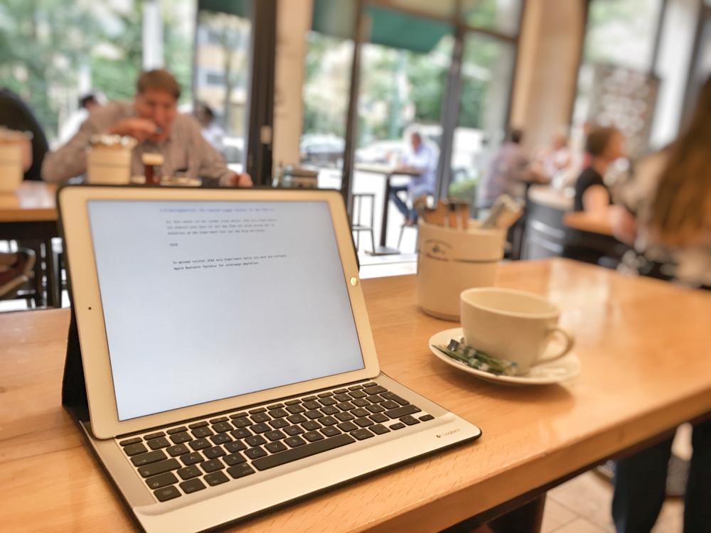 Tastaturcover für das iPad Pro Logitech Create