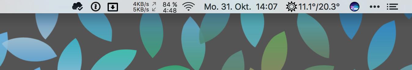 Produktiv mit der Menüleiste an Deinem Mac arbeiten