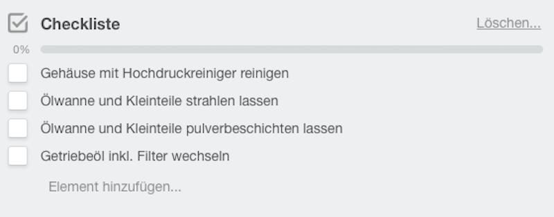 checkliste Marcel Kraus