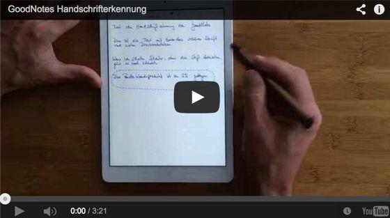 das beste App zum schreiben auf dem iPad, Umwandlung von Handschrift