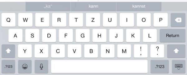 iOS 8 funktionen die man bracuht