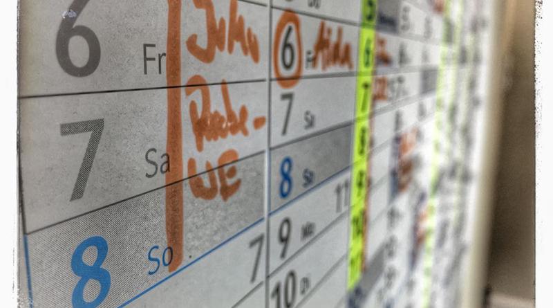 Kalender, den jeder braucht