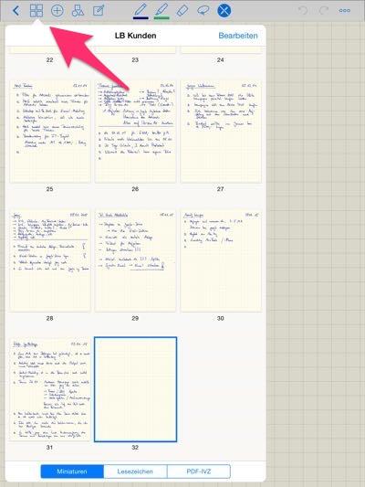 Papierloses Büro: anmontieren von pdf Dateine
