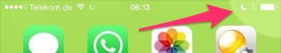 nicht stören im iPhone aktivieren