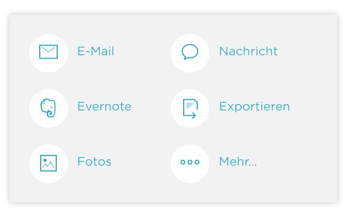 Wie schnell ist Scannable von Evernote