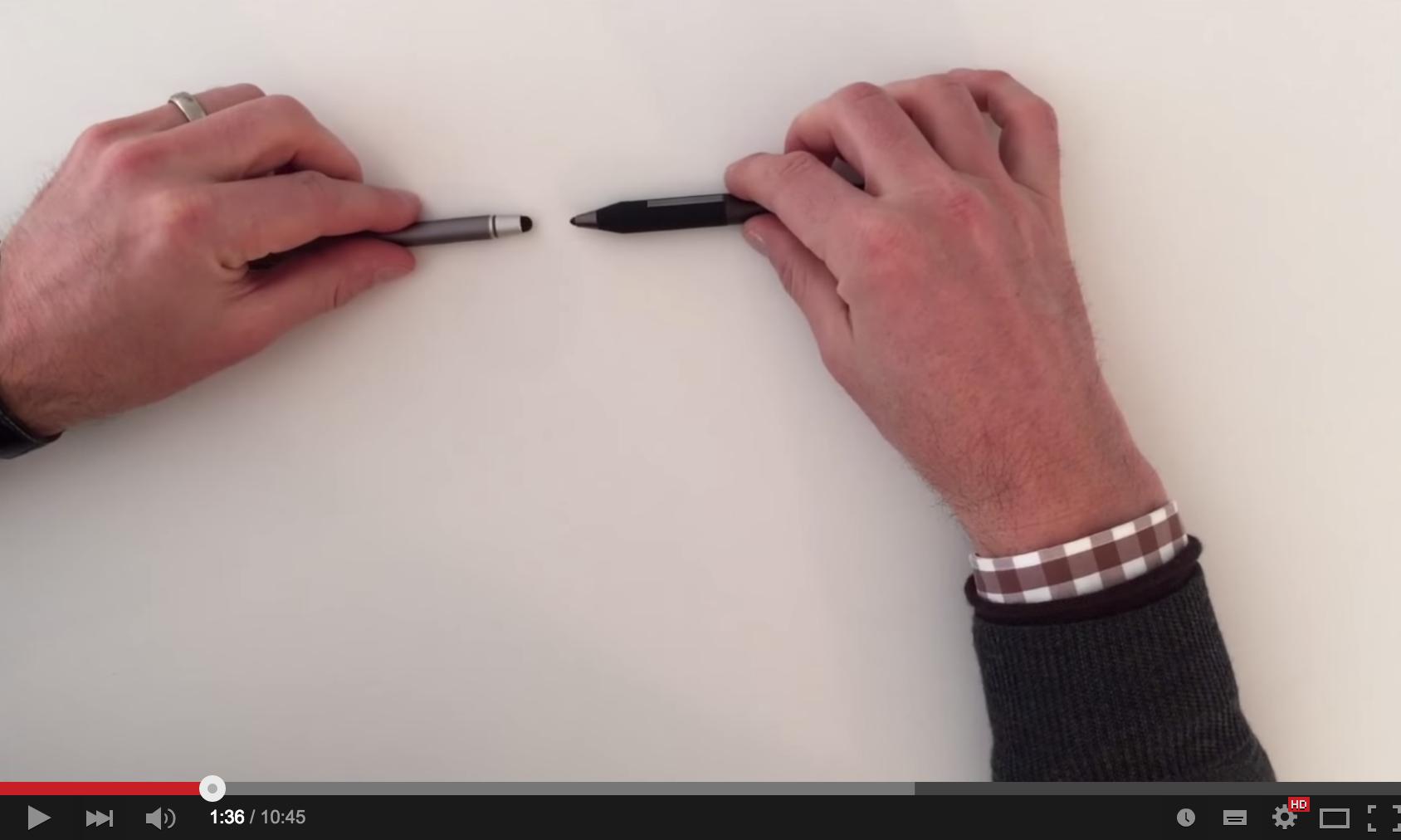 Papierloses Büro: Eingabestifte für das iPad, Smart Pen