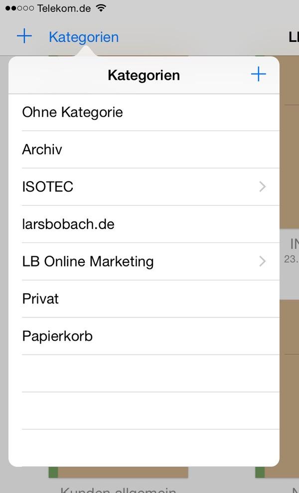 Organisieren der Notizbücher in der App GoodNotes