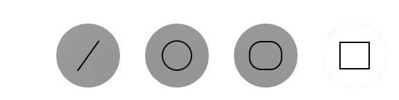 verpixeln in der evernote ipad app