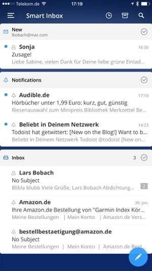 die beste email app für das iphone