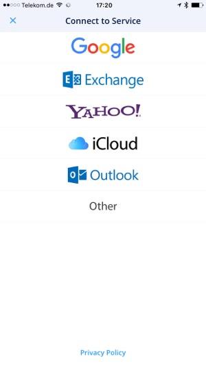 email app für exchange konto