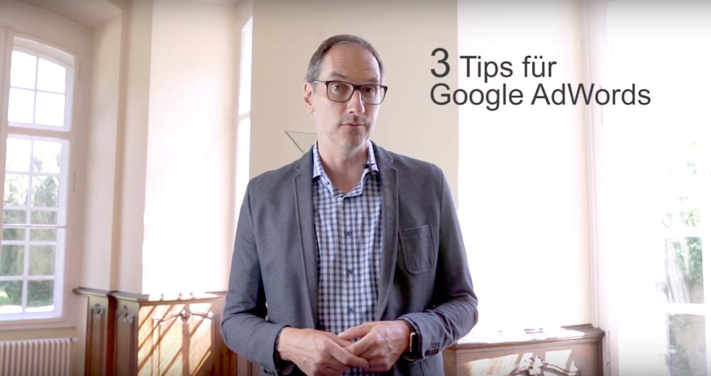 Tipps für Google Adwords