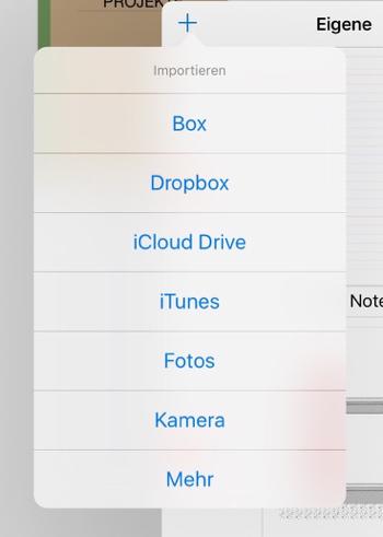 Eigene Vorlagen GoodNotes iPad Pro