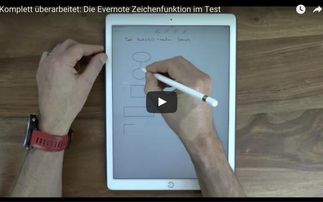 iPAd Pro mit Apple Pencil in Evernote nutzen