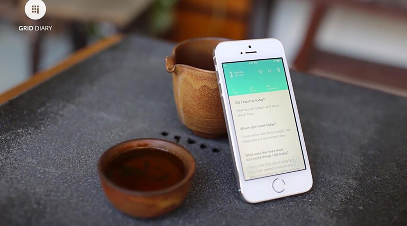 Grid Diary: Die perfekte App für Tagebuchschreibmuffel - Lars Bobach