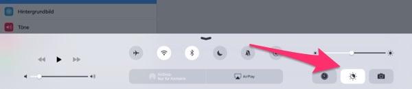 Night Shift am iPad einschalten
