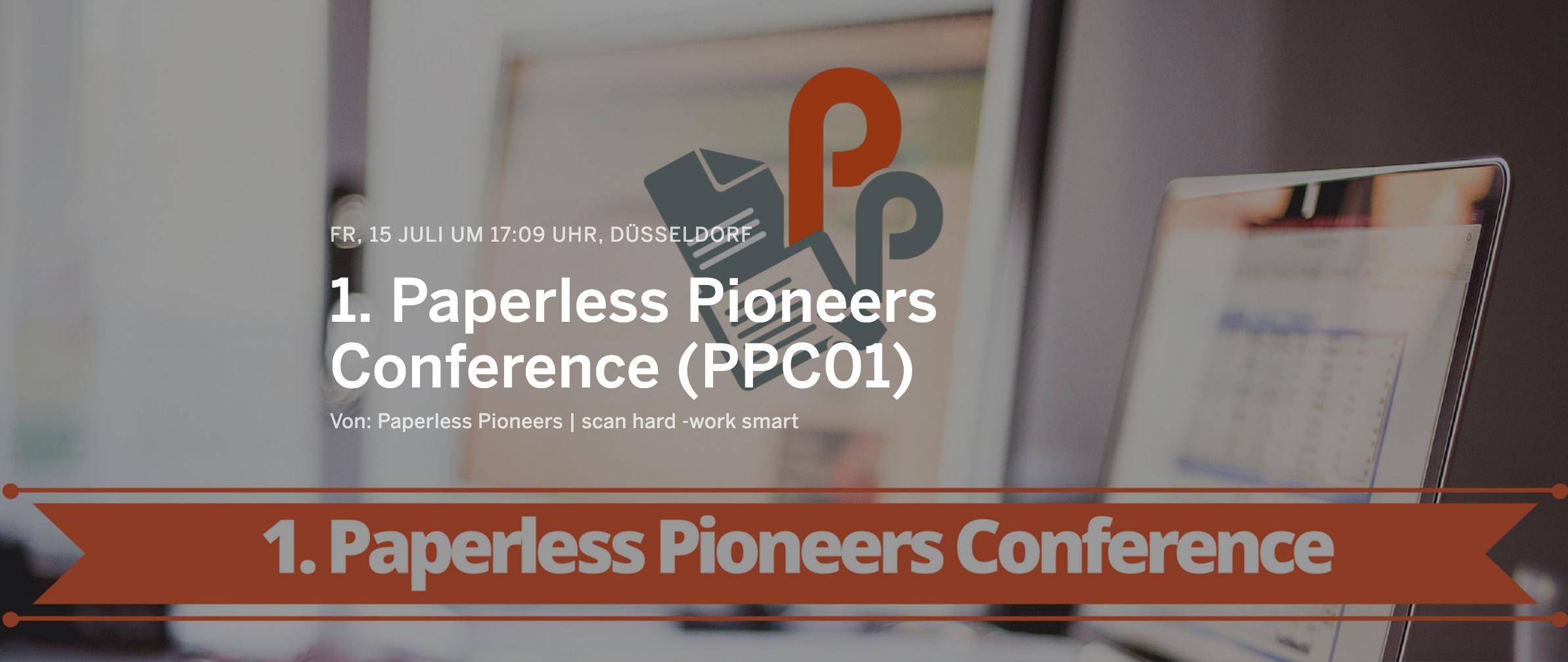 Conference zum papierlosen Büro in Düsseldorf