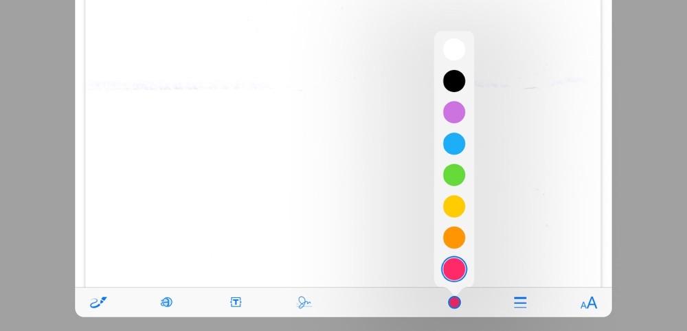 Schreiben in pdf-Dokumenten auf dem iPad