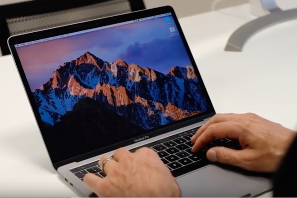 MacBook im Einsatz