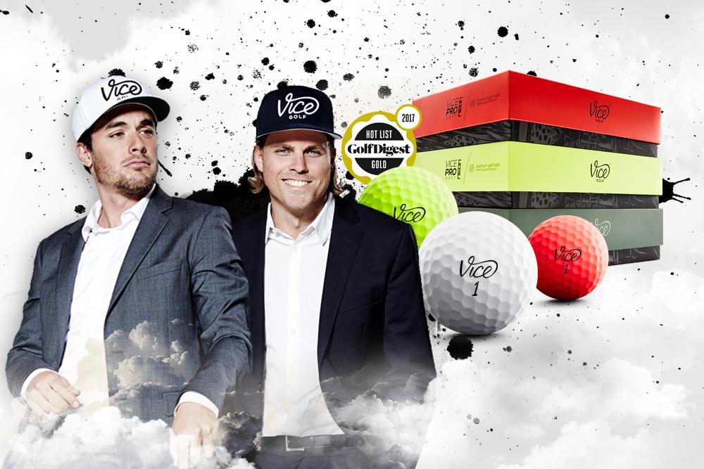 Die Gründer von Vice Golf