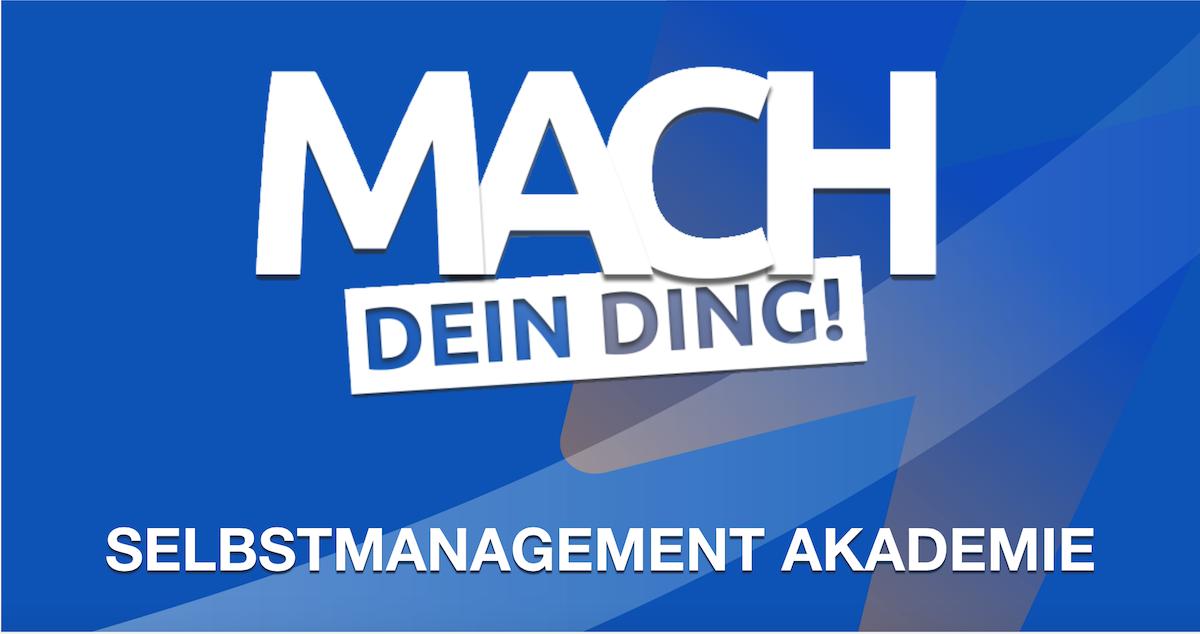 Logo MDD Selbstmanagement Akademie