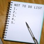 Die wichtigste To-Do-Liste: Die Stop-Doing-List oder Not-To-Do-Liste [Podcast 110]