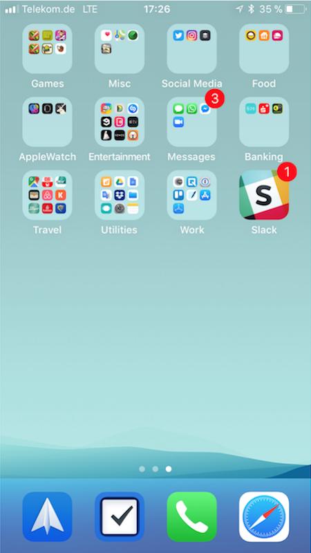 iPhone Apps von Gabriel