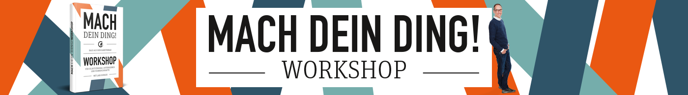MDD Workshop mit Lars Bobach
