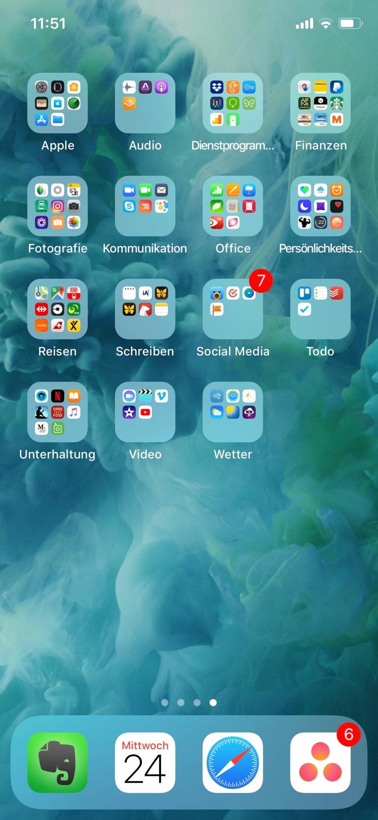 iPhone Bildschirm 3