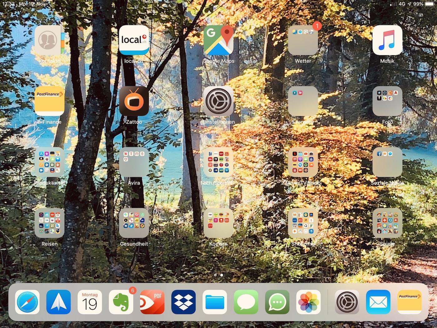 Screenhot iPad Andreas