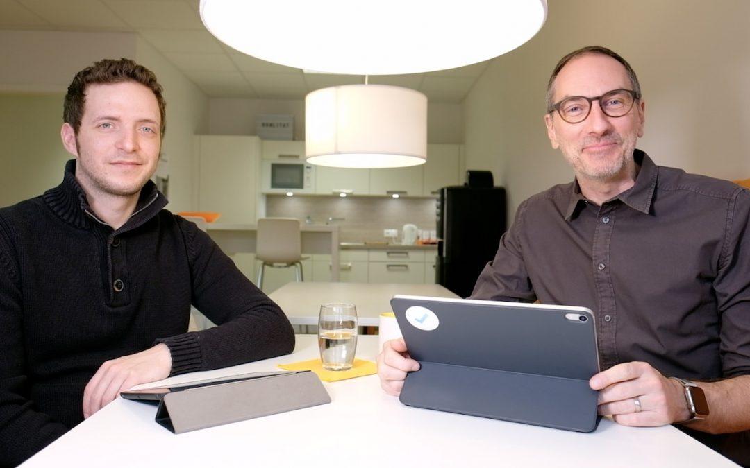 Lars und Robin beim Videodreh
