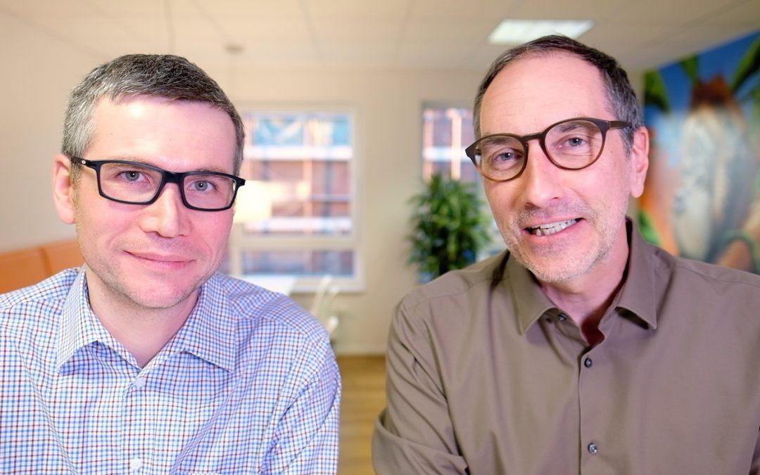 Wolfgang und Lars beim Videodreh