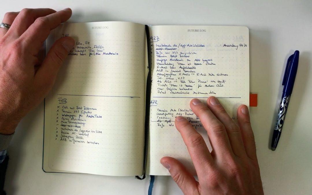 Erfahrungsbericht: 2 Monate Bullet Journal – Das Ohne-Taskmanager-Experiment