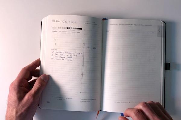 Tagesplanung - Full Focus Planner