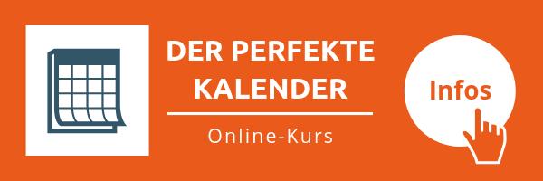 Online-Kurs: Der perfekte Kalender