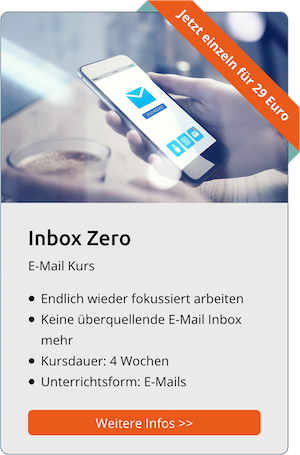 Online-Kurs: Inbox-Zero