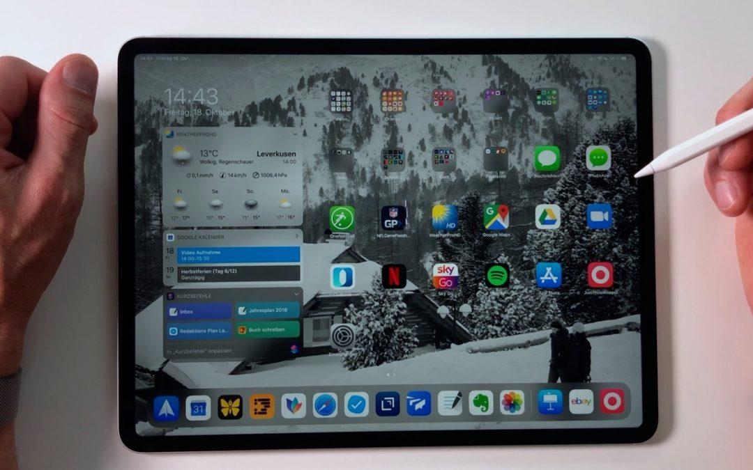 iPad only: Meine Widget-Leiste (Die Heute-Ansicht)
