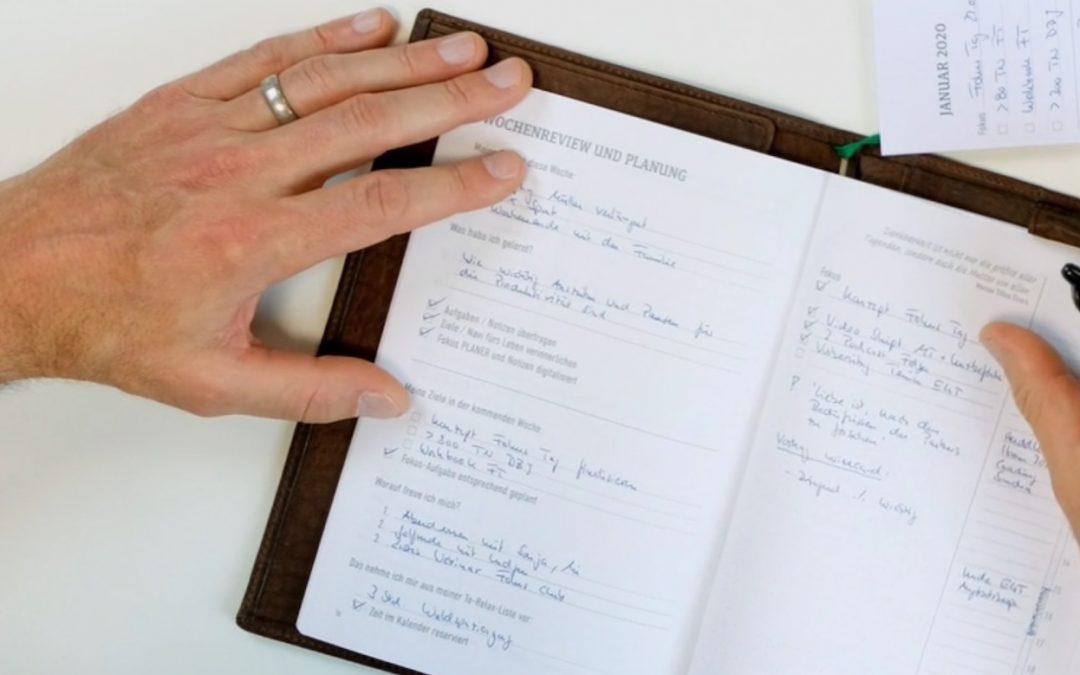 Warum Du handschriftlich planen solltest