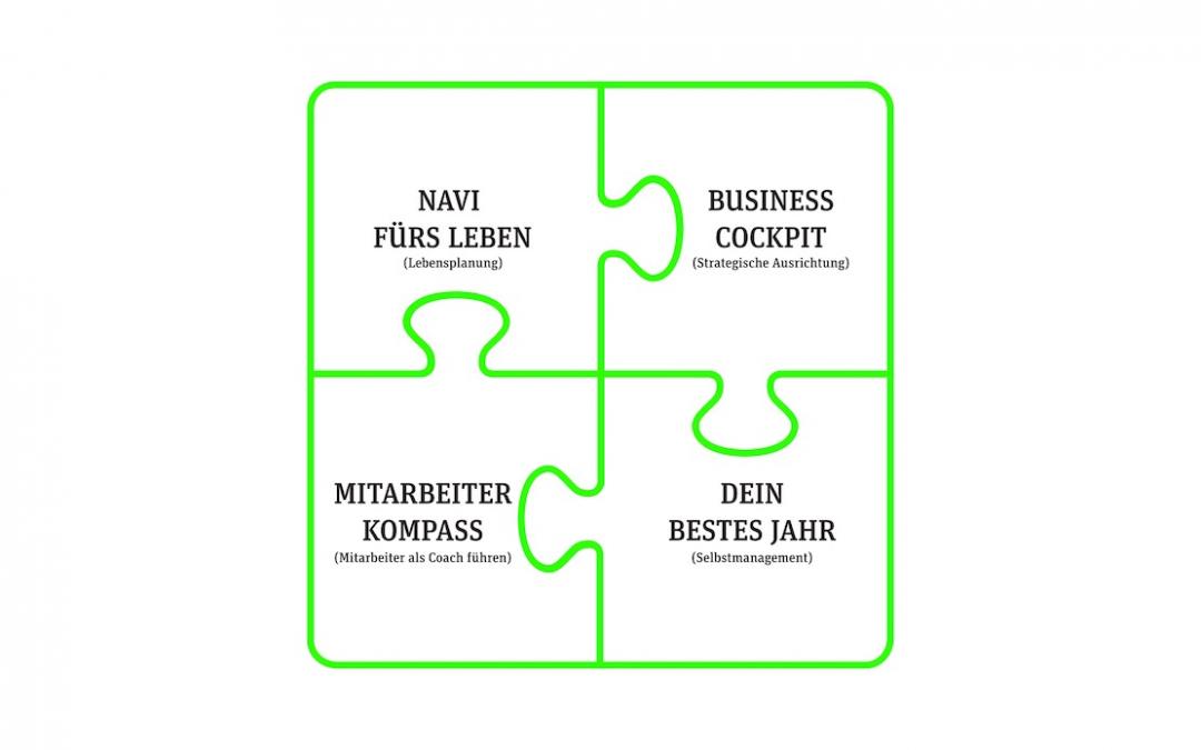 Die 4 wichtigsten Puzzleteile für unternehmerische Freiheit